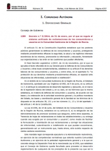 Decreto 03-2014 BORM